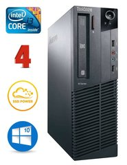 Lenovo ThinkCentre M82 SFF i3-3240 4GB 120SSD DVD WIN10Pro (Обновленный)