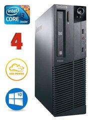 Lenovo ThinkCentre M82 SFF i3-3240 4GB 120SSD DVD WIN10Pro (Atjaunots) cena un informācija | Personālie datori | 220.lv