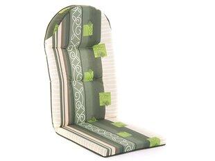 Подушка для кресла Patio Galaxy 4/8 cm C025-02BB, зеленая цена и информация | Подушки для стульев | 220.lv