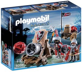 Kонструктор 6038 PLAYMOBIL® Knights, Hawk Knights` Battle Cannon