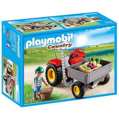 Kонструктор 6131 PLAYMOBIL® Country, Harvesting Tractor цена и информация | Конструкторы | 220.lv