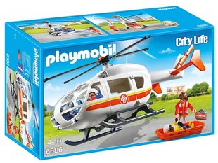 Kонструктор 6686 PLAYMOBIL® City Life, Emergency Medical Helicopter