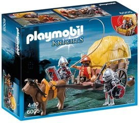 Kонструктор 6005 PLAYMOBIL® Knights, Hawk Knight`s with Camouflage Wagon
