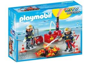 Конструктор 5397 PLAYMOBIL® City Action, Команда пожарных с водяным насосом цена и информация | Конструкторы | 220.lv