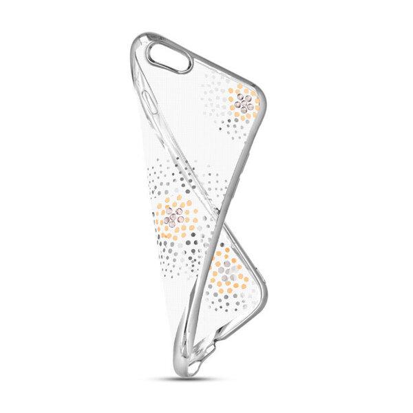 Aizsargvāciņš Beeyo Flower Dots, piemērots Samsung Galaxy S7 G930telefonam, sudrabains internetā
