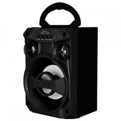 Portatīvais bezvadu skaļrunis Media-Tech BOOMBOX LT, 6W RMS, FM, USB, MP3, AUX, MICROSD, BLACK cena un informācija | Skaļruņi | 220.lv