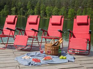 Стул Patio Merano Plus D029-03TB, красный цена и информация | Кресла для сада | 220.lv