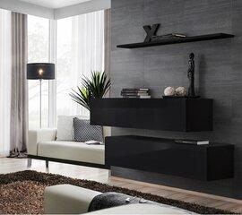 Dzīvojamās istabas mēbeļu komplekts Switch SB 2, melns