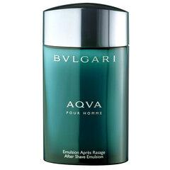 Pēc skūšanas emulsija Bvlgari Aqua Pour Homme 100 ml