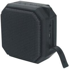 Daudzfunkcionālais bezvadu BluetoothskaļrunisPlatinet ar LED IPX4 5Wapgaismojumu, melns