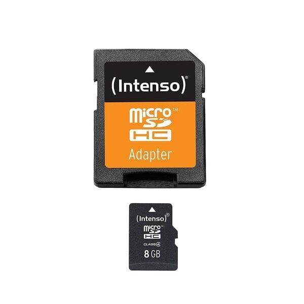 Atmiņas karte Intenso micro SD 8GB CL4
