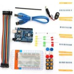 Izglītojošs elektronikas komplekts - Viedās ķēdes ar ATmega328P Mikrokontrolieri цена и информация | Электроника с открытым исходным кодом | 220.lv