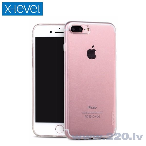 Maciņš X-Level Antislip/O2 Apple iPhone 6 skaidrs