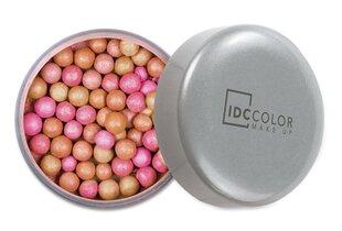 Vaigu sārtums IDC Color Lighting Touch Pearls cena un informācija | Pūderi, bronzatori, vaigu sārtumi | 220.lv