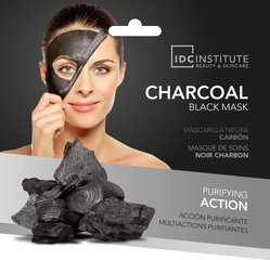 Attīrošā sejas maska IDC Institute Charcoal Black Mask 22 g