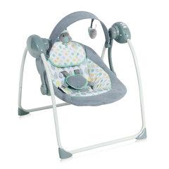 Šūpuļkrēsliņš Lorelli Portofino, pelēks cena un informācija | Bērnu šūpuļkrēsliņi | 220.lv
