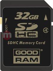 Atmiņas karte Goodram SDHC,32 GB, klasė 4