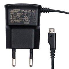 Telefona lādētājs Samsung Micro USB ETA0U10EBE 700mAh Bulk