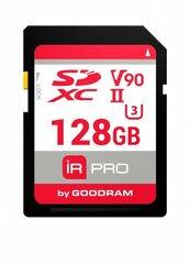 Atmiņas karte GoodRam microSDXC 128GB V90 UHS-II U3 280/240 Mb/s Iridium Pro