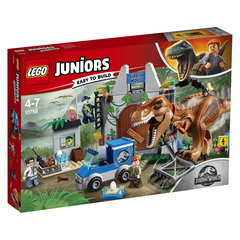 10758 LEGO® Juniors Tiranozauro escape