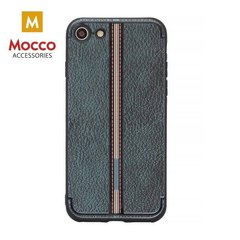 Aizsargmaciņš Mocco Trendy Grid And Stripes Silicone Back Case Apple iPhone 7 Plus / 8 Plus Black (Pattern 3)