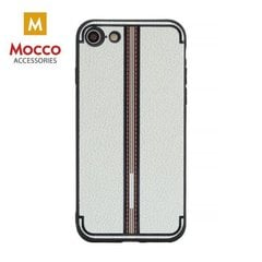 Aizsargmaciņš Mocco Trendy Grid And Stripes Silicone Back Case Samsung G950 Galaxy S8 White (Pattern 3)