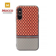 Aizsargmaciņš Mocco Trendy Grid And Stripes Silicone Back Case Apple iPhone 7 / 8 Red (Pattern 2)