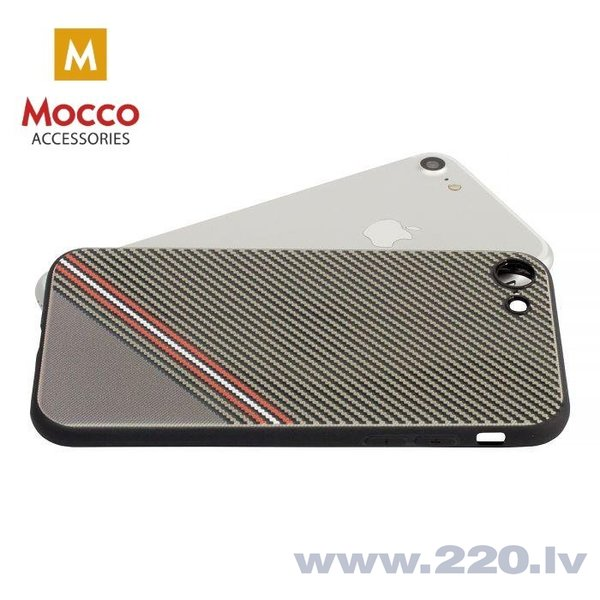 Aizsargmaciņš Mocco Trendy Grid And Stripes Silicone Back Case Samsung G950 Galaxy S8 Brown (Pattern 1) cena