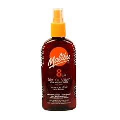 Солнцезащитное масло-спрей Malibu SPF 8 200 мл