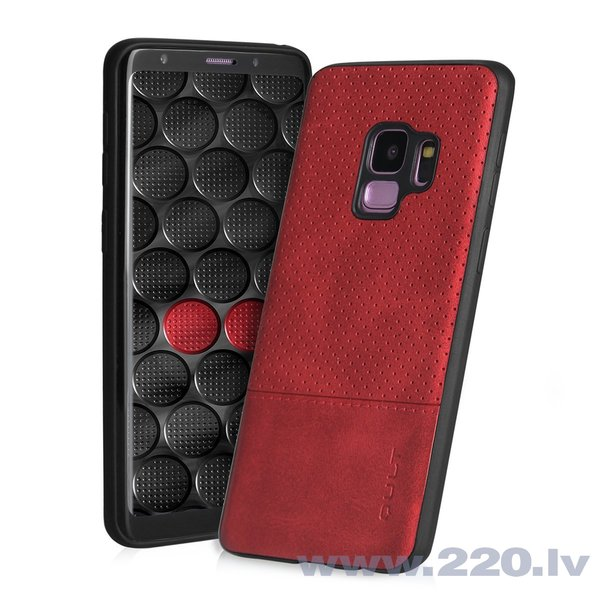 Aizsargmaciņš Qult Luxury Drop Back Case Silicone Case Samsung Galaxy Note 8 Red