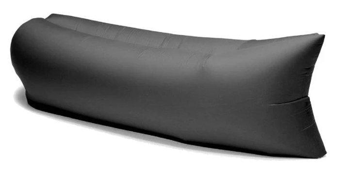 Gaisa gulta Lazy Bed, melna