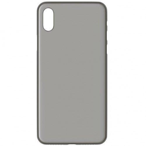 Telefona vāciņš 3MK NaturalCase, piemērots iPhone X telefonam, caurspīdīgs/melns cena