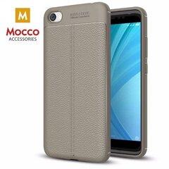 Aizsargvāciņš Mocco Litchi Pattern, piemērots Samsung J530 Galaxy J5 (2017)telefonam, pelēks