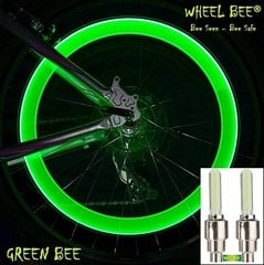 Riteņu lukturi Wheel Bee® LED Cycle Bee, zaļi