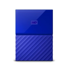 """Western Digital My Passport 2.5"""" 2TB USB 3.1 Zils"""