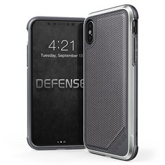 Aizsargmaciņš Apple iPhone X Defence Ultra Cover By Xdoria Grey