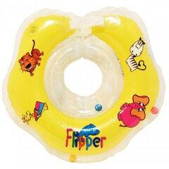Peldēšanas riņķis zīdaiņiem Roxy kids Flipper Dzeltens