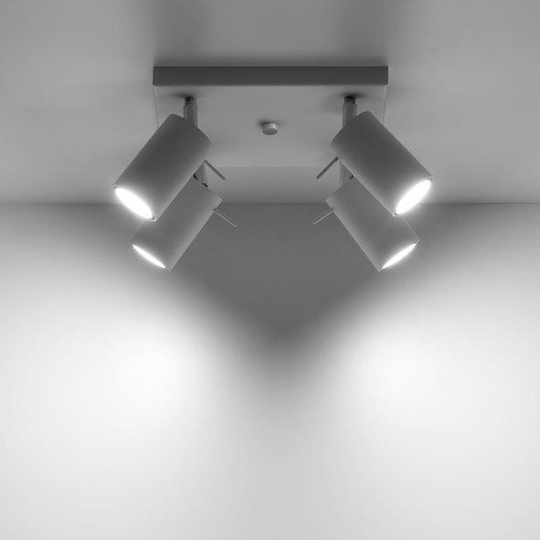 SOLLUX потолочный светильник Ring 4 White