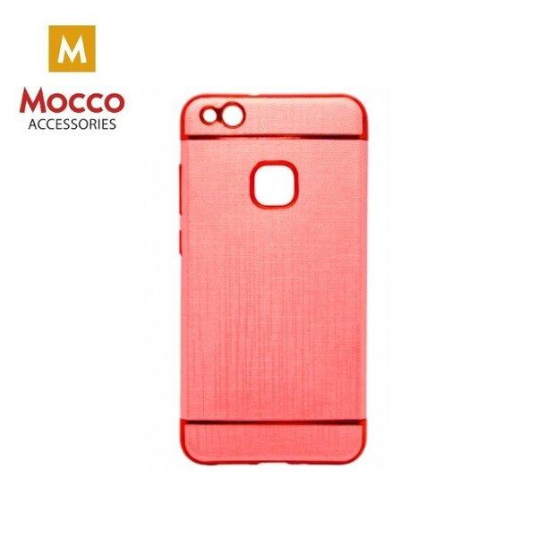 Telefona aizmugurējais apvalks Mocco Exclusive Crown, paredzēts Samsung G955 Galaxy S8 Plus, sarkans