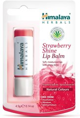 Mitrinošs lūpu balzams Himalaya Herbals Strawberry Shine 4.5 g