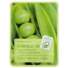 Питательная маска для лица Tonymoly Pureness 100 Placenta Mask Sheet Vitality 21 мл