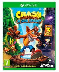 Game Xbox One Crash Bandicoot N. Sane Trilogy (BOX; Blu-ray; English; from 3 years old)