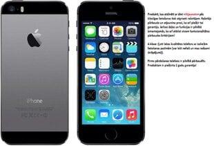 Apple iPhone 5S 16GB, Pelēka (Atjaunots) A-klase
