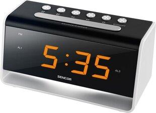 Radio modinātājs Sencor SDC 4400W (35048704), melns/balts cena un informācija | Radio modinātājs Sencor SDC 4400W (35048704), melns/balts | 220.lv