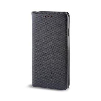 Atverams maciņš GreenGo Smart Magnet, piemērots LG G6 H870 telefonam, melns