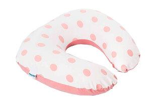 Barošanas spilvens Doomoo Softy Dots, Delta Baby (Delta Diffusion), pink