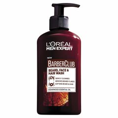 Мытье волос, лица и бороды L'Oreal Paris Men Expert Barber Club vīriešiem 200 ml