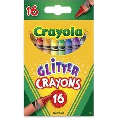 Vaska krītiņi Crayola, 16 gab. cena un informācija | Modelēšanas un gleznošanas piederumi | 220.lv