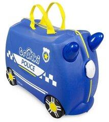 Bērnu čemodāns Trunki Percy Police car
