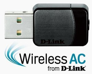D-Link Wireless AC DualBand USB Micro Adapter cena un informācija | D-Link Wireless AC DualBand USB Micro Adapter | 220.lv